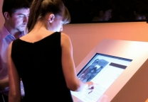 Touch screen - Private party for the launch of the agency [Kju:]